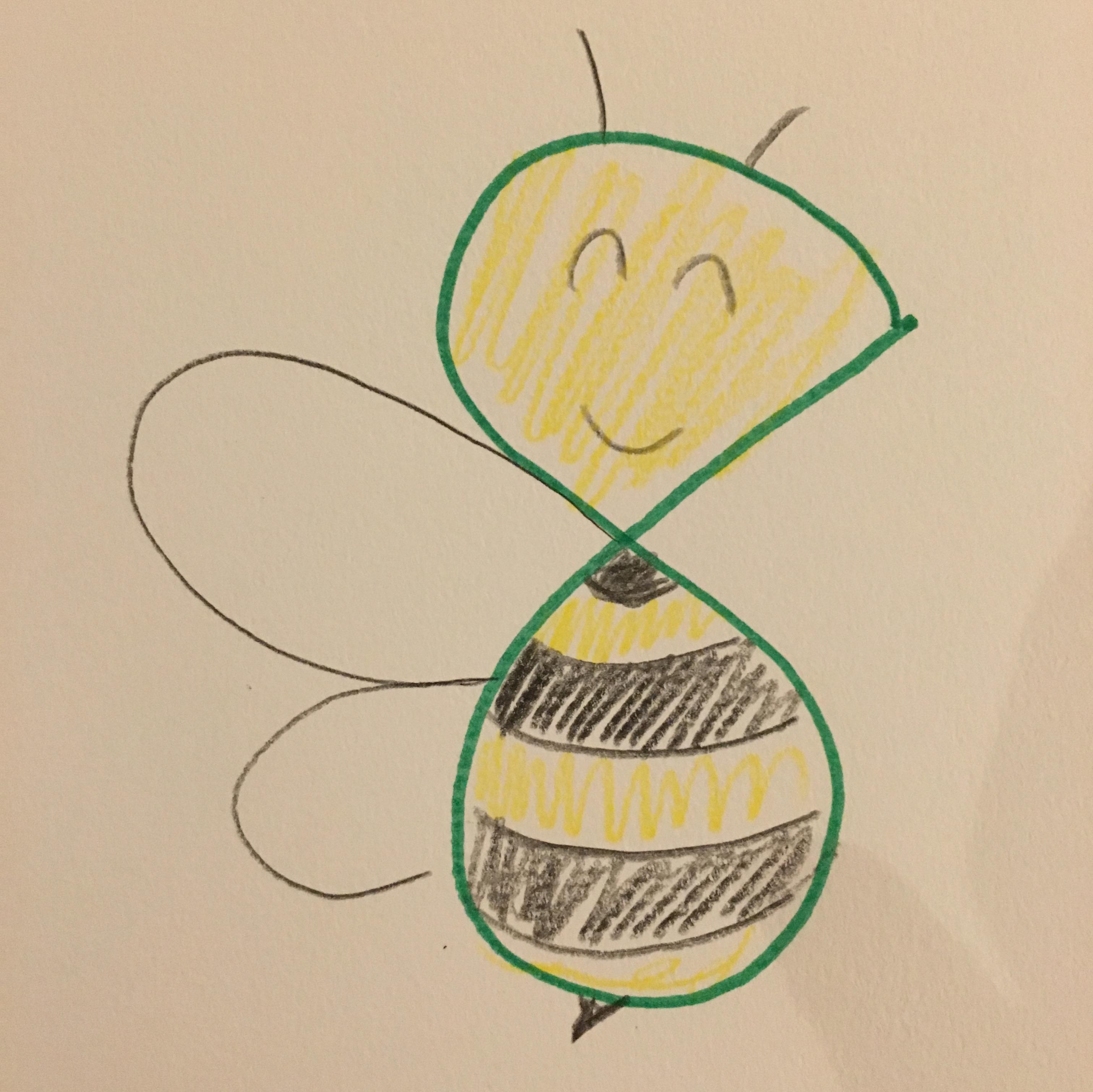 数字のハチ!